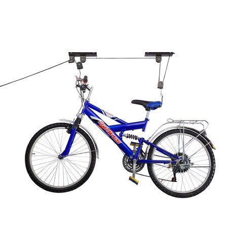 2 Pack Rad Cycle Products Bike Lift Hoist Garage Mtn Bicycle Hoist 100Lb Cap