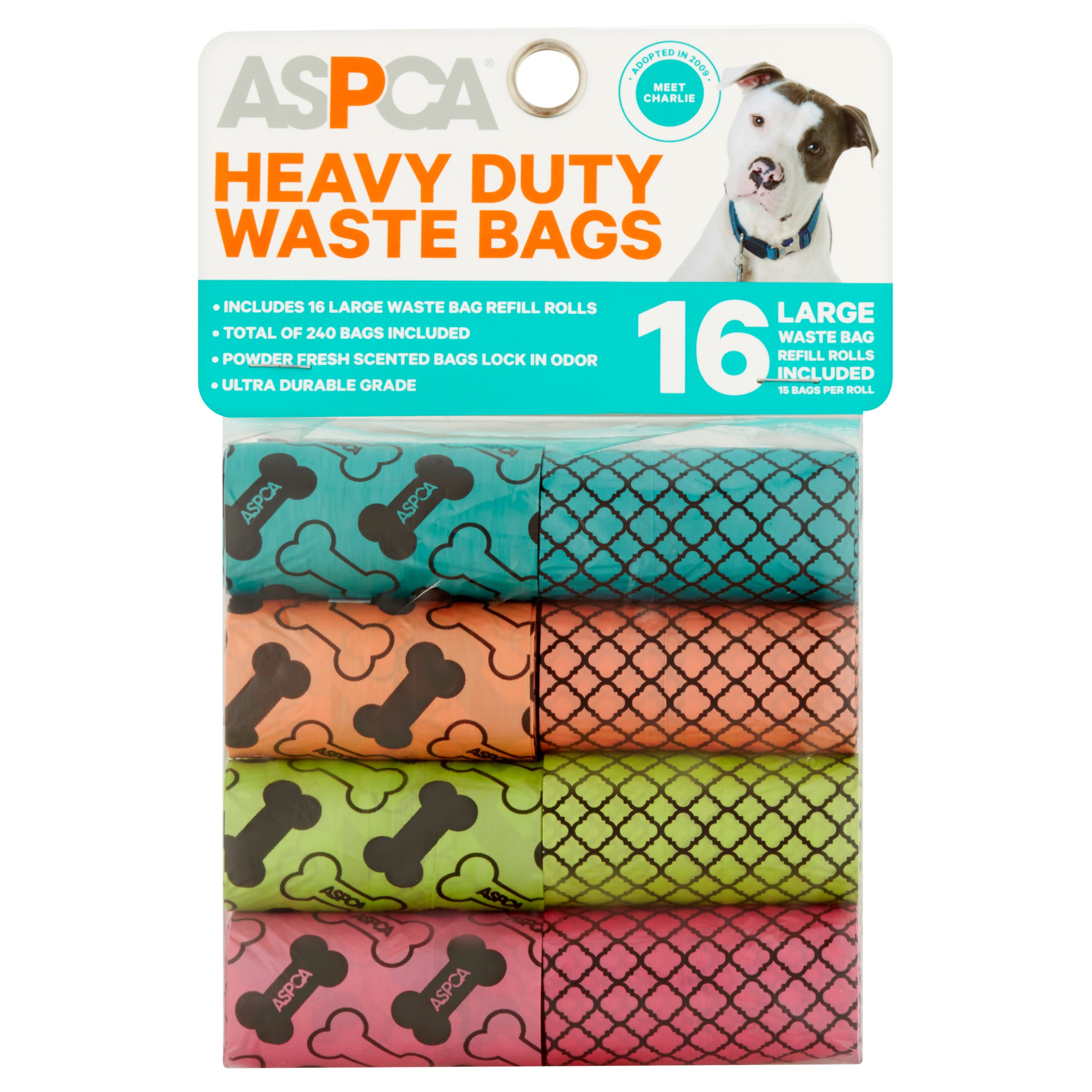 ASPCA Large Heavy Duty Waste Bags, 16 count