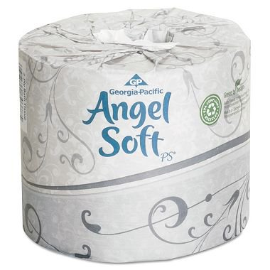 Product of Angel Soft PS - Premium Bathroom Tissue - 40 Rolls - Toilet Paper [Bulk Savings]