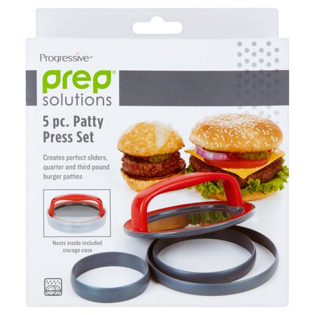 Hornz 5 Pc Patty Press Set
