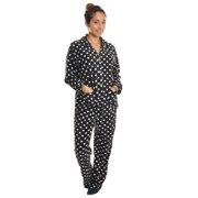 Angelina Womens Fleece Loungewear Sleepwear Pajama Set