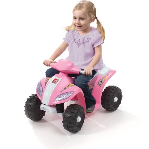 Step2 Mini Quad 6-Volt Battery-Powered Ride-On, Pink