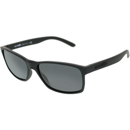 - Arnette Men's Slickster AN4185-447/87-59 Black Wayfarer Sunglasses