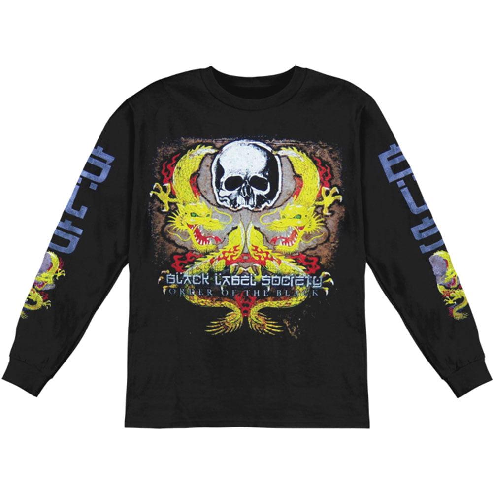 Rockabilia Black Label Society Men's  Dragon Tour Fall  L...