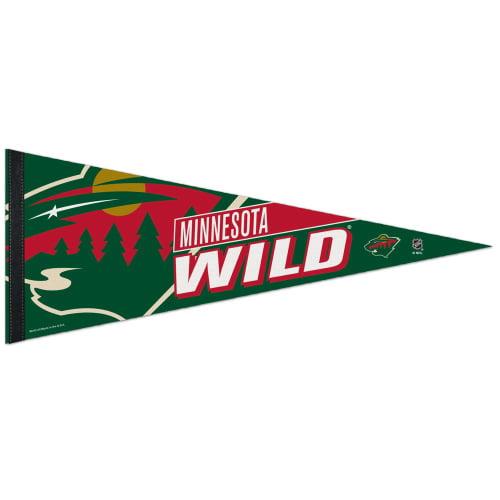 "Minnesota Wild WinCraft 12"" x 30"" Premium Pennant - No Size"
