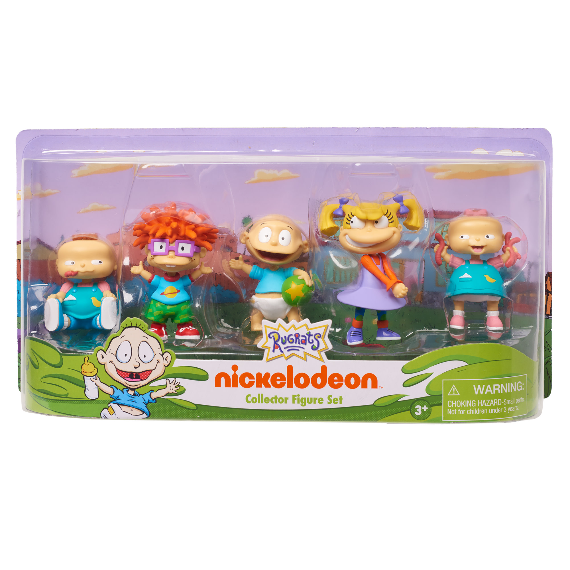 Nickelodeon Rugrats 5-Piece Collectible Figure Pack