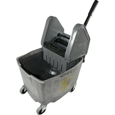 Impact Products, IMP4G26353G, 35 QT Down Press Mop Bucket Wringer Combo, 1 Each, Gray
