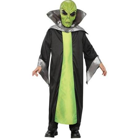 Alian Costume (Child's Green Alien Costume)