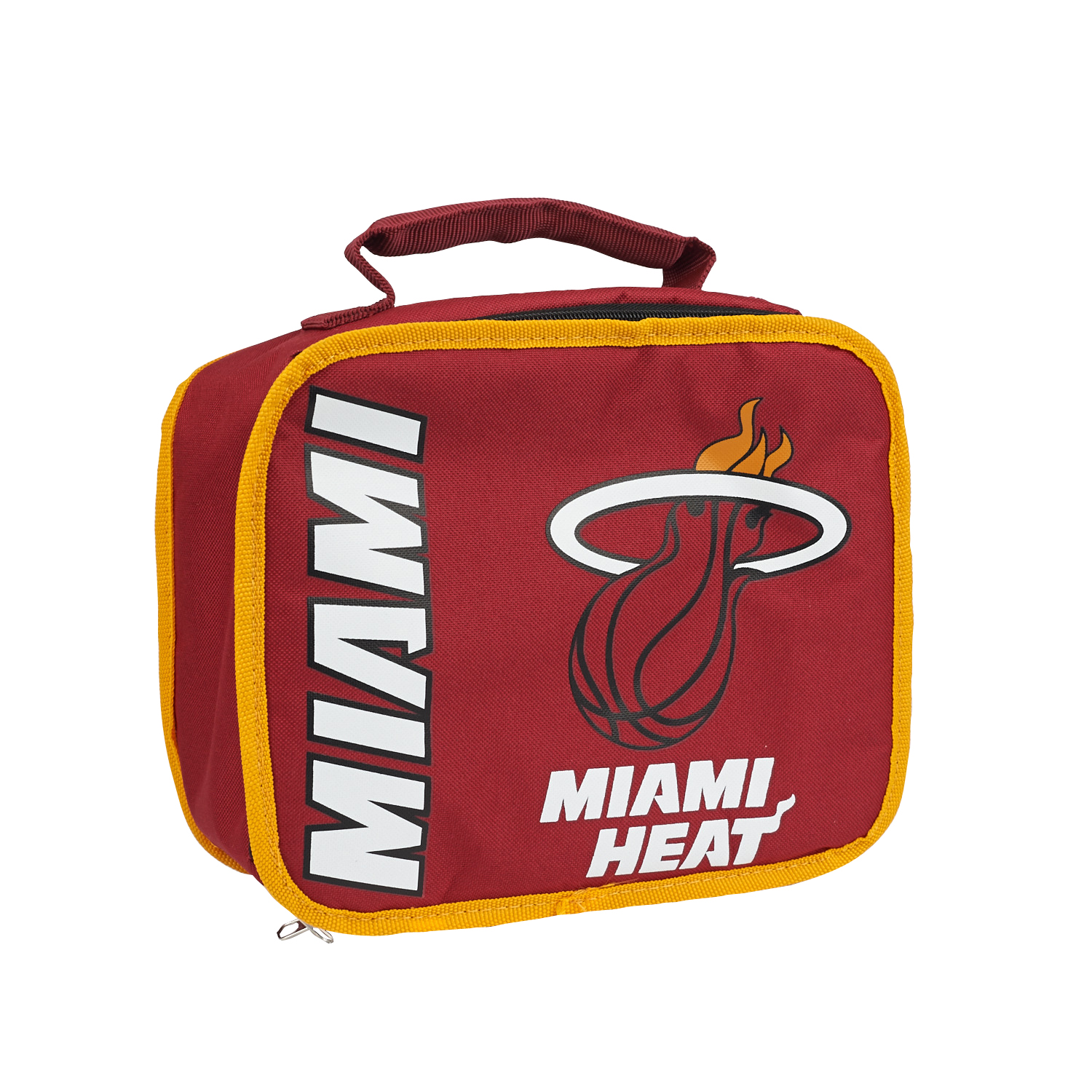 "NBA Miami Heat ""Sacked"" 10.5""L x 8.5""H x 4""W Lunch Cooler"