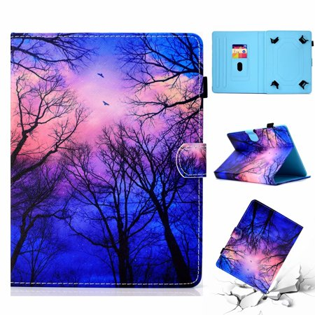 Universal 8 inch Tablet Case, Dteck Wallet Style Stand Cover for iPad  Mini,Samsung Galaxy Tab E,Tab S2 8 0,Tab A,Tab 4 3,Kindle Fire HD 8 2017  2016,LG
