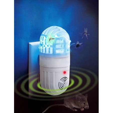 Maraso Ultrasonic Electronic Mosquito Pest Killer Insect Trap Atomic Bug Zapper Cockroach Repeller - Giant Cockroach