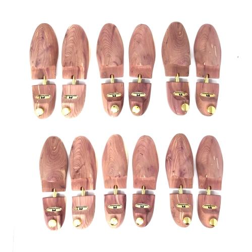 Cedar Elements Little Wholesale Program - Cedar Shoe Tree - 6 Pairs (L)