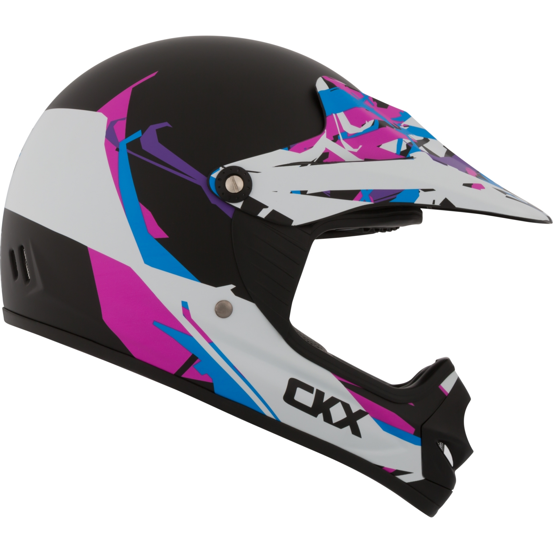 CKX Block TX218Y Off-Road Helmet - Youth No Shield