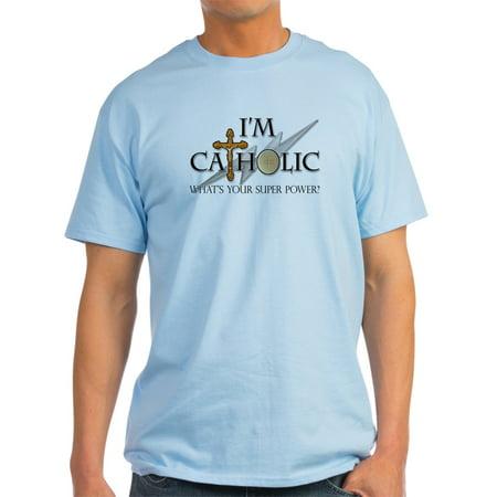 3503544f5 CafePress - CafePress - Catholic T-Shirt - Light T-Shirt - CP - Walmart.com