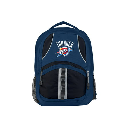 "NBA Oklahoma City Thunder ""Captain"" 18.5""H x 8""L x 13""W (Nba Jersey Backpack)"