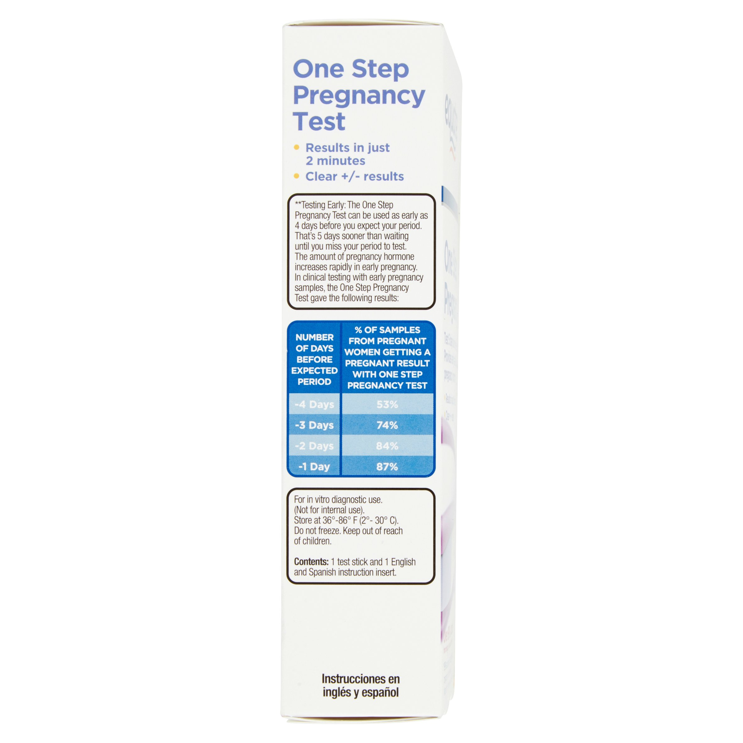 Equate One Step Pregnancy Test