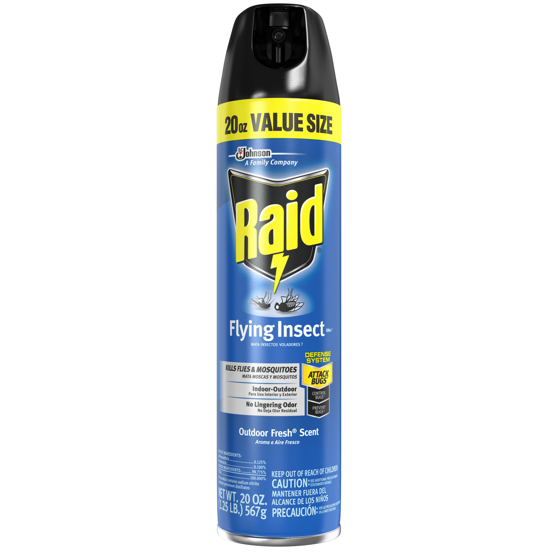 Raid Flying Insect Killer 7, 20 Ounces