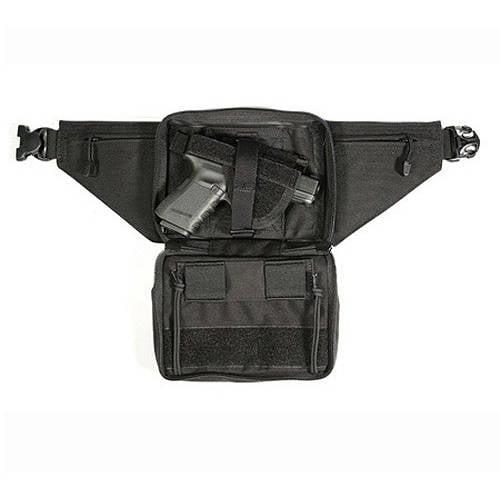 BLACKHAWK! Nylon Concealed Weapon Fanny Pack Holster - Ambidextrous