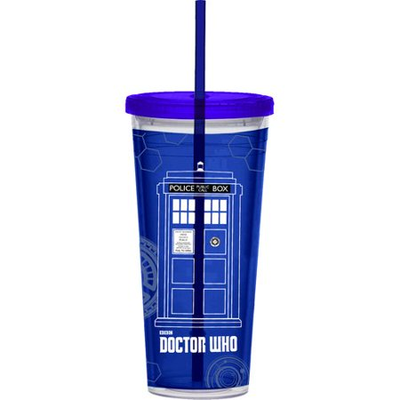 Vandor LLC Doctor Who 24 Oz. Acrylic Travel Tumbler for $<!---->
