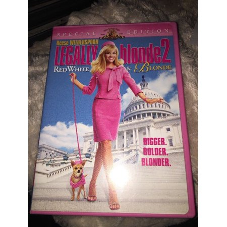 Legally Blonde 2: Red, White and Blonde DVD (Legally Blonde 2 Red White And Blonde 2001)