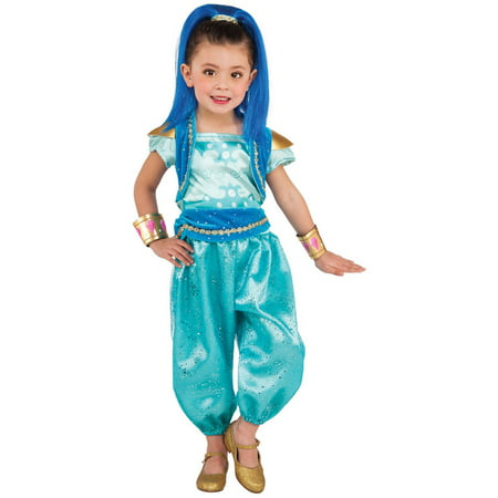 Shimmer and Shine: Shine Deluxe Toddler Halloween Costume](Toddler Mermaid Halloween Costume)