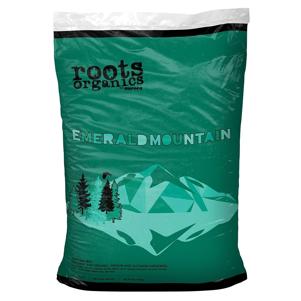 Roots Organics Emerald Mountain Potting Mix, 1.5 cu ft