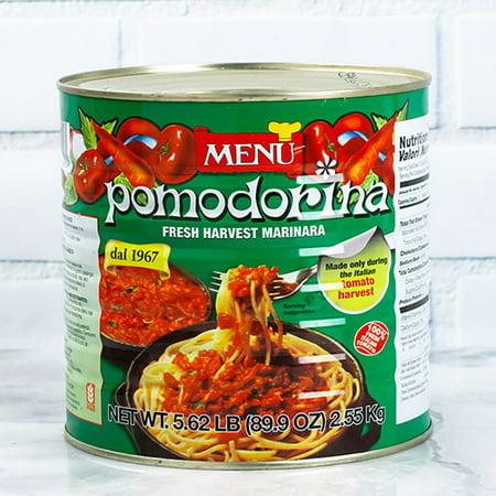 Pomodorina Restaurant Pasta Sauce by Menu 2.5 Kilo (2.5 kg) (Menu Pomodorina Sauce)