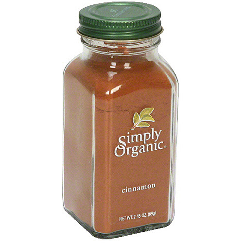 Simply Organic Cinnamon, 2.45 oz (Pack of 6)