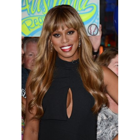 Laverne Cox Out And About For Celebrity Candids   Tue Canvas Art     16 X 20
