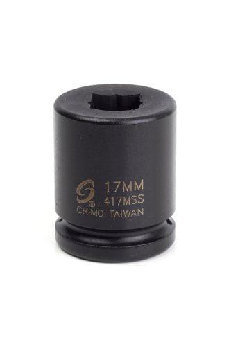 Sunex 417mss 3//4-Inch Drive 17-Mm Double Square Impact Socket Sunex International