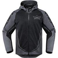 Icon Raiden UX Waterproof Jacket Black XL  2820-3560