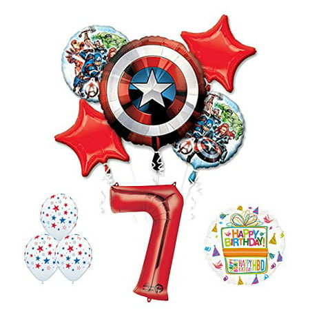 The Ultimate Avengers Super Hero 7th Birthday Party Supplies - Super Hero Supplies