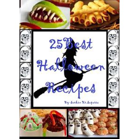 25 Best Halloween Recipes - eBook (Punch Recipe Halloween)
