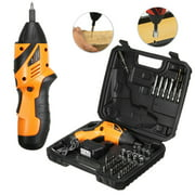 45in1 4.8V Mini Cordless Electric Screwdriver Power Tool Screw Gun Drill Kit with LED Light & + Carry Case For Iron Wood Steel