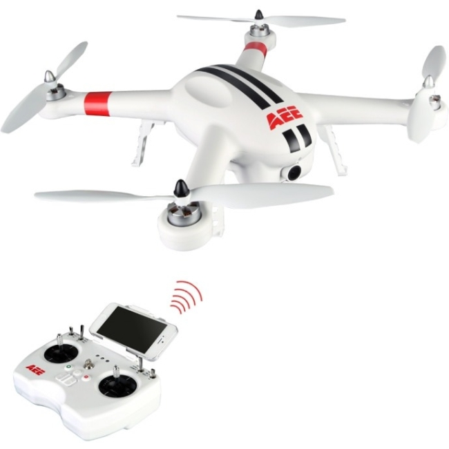 Aee Toy Drone - Battery Powered - 0.42 Hour Run Time - 1640.42 Ft Operating Range - Wi-fi - Outdoor (ap10_2)