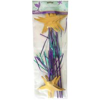 Mermaid 'Mermaid Wishes' Deluxe Starfish Wands / Favors (6ct)