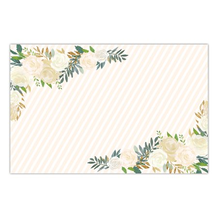 DB Party Studio Paper Placemats 25 Pack Bridal Shower Engagement Christening Parties Memorial Service Luncheon Dinner Easy Cleanup Disposable Dining Table Setting Generous 17