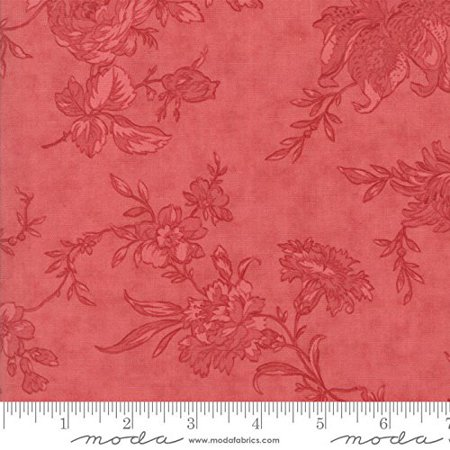 Moda Poetry Rose 108 Wide Quilt Backing Fabric By The Yard Fabric