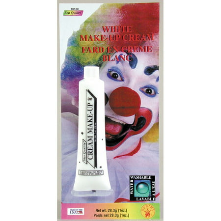 White Cream Face Paint - Walmart Halloween Face Paint