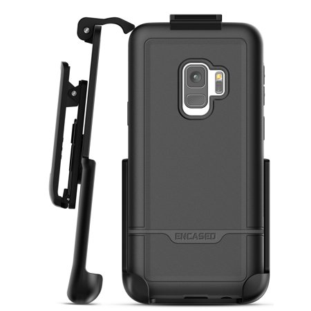 meet 282b9 39342 Heavy Duty Galaxy S9 Belt Case, Encased (Rebel Series) Rugged Case with  Secure Clip Holster for Samsung Galaxy S9 - Military Spec Drop Protection  ...