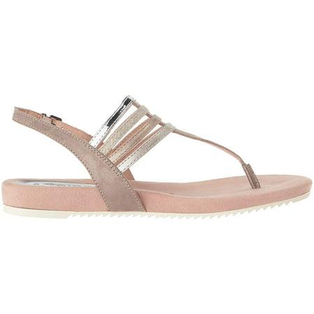 Tamaris Womens Locust Sandal Split Toe Casual Slingback, Pepper Comb, Size 8.5