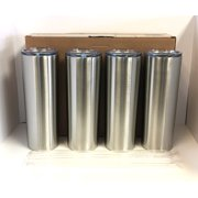 Silver Maars 20 oz. Skinny Steel 4 Pack Double Wall Stainless Tumbler