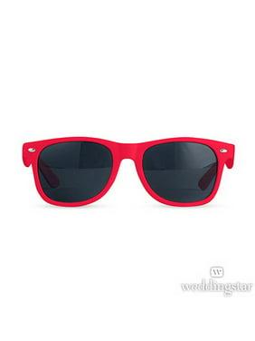 Weddingstar 4436-07 Fun Shades Sunglasses - Red