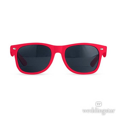 Weddingstar 4436-07 Fun Shades Sunglasses - Red