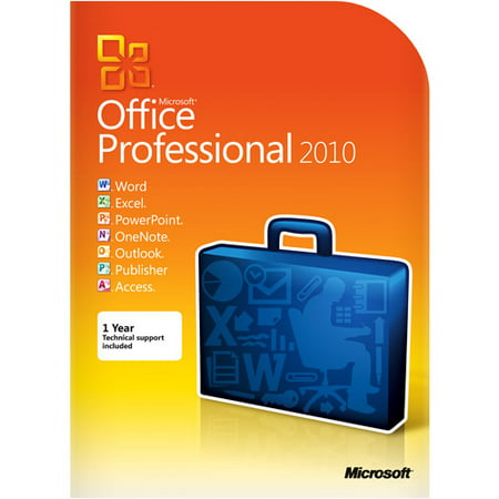 Microsoft Office Professional 2010 Windows Promo Code