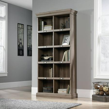 Sauder Barrister Lane Tall Bookcase, Salt Oak Finish