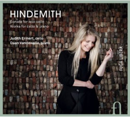 P. Hindemith Hindemith: Sonata for Solo Cello; Works for Cello & Piano [CD] by