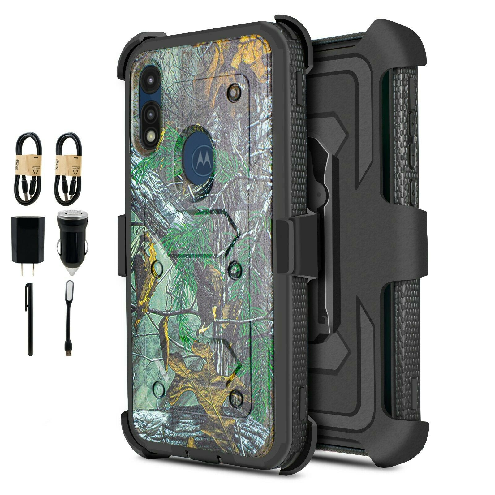 Ankoe for Moto E 2020 Belt Case Combo Shell Holder for Motorola Moto E 2020 // E7 Case Moto E7 case Super Slim Hard Shell Layer Holster Sport Case with Belt Clip and Holster Kickstand Camo