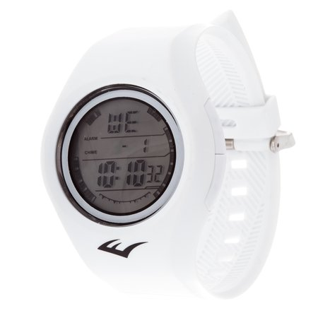 Retro Kids Digital Round Sport Mens's LED White watch Watch with Rubber Strap
