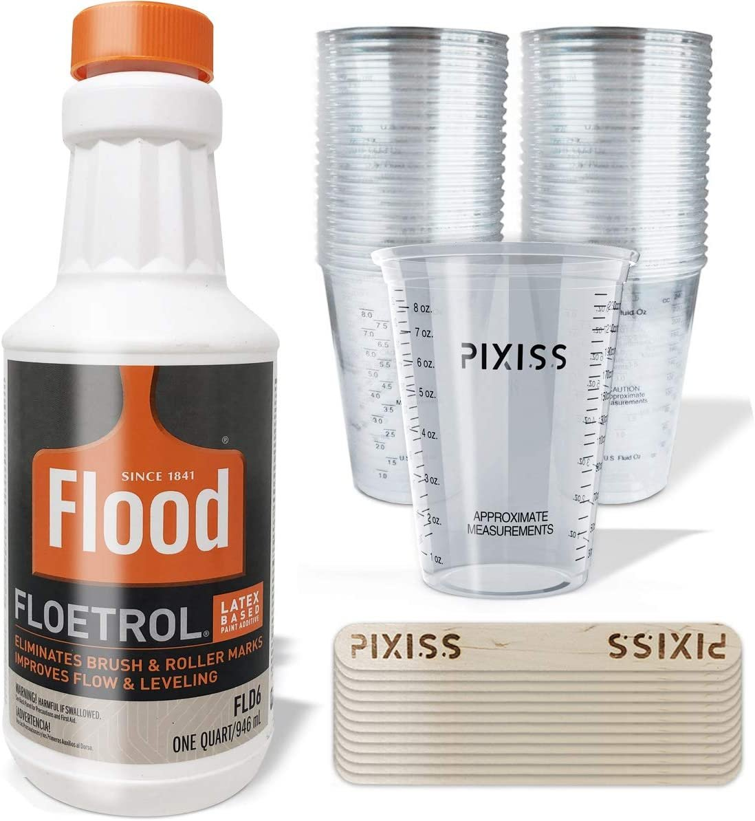 Floetrol Pouring Medium For Acrylic Paint Quart Flood Flotrol